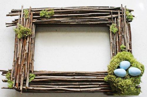 Рамка для фото своими руками из дерева фото