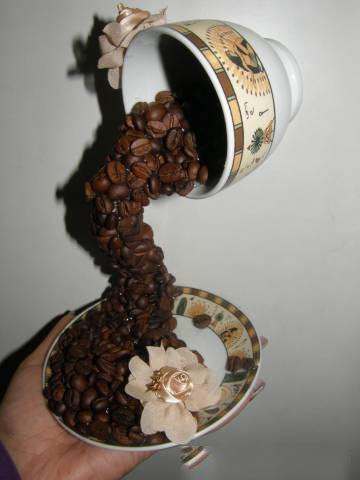 Как сделать сувенир из кофе