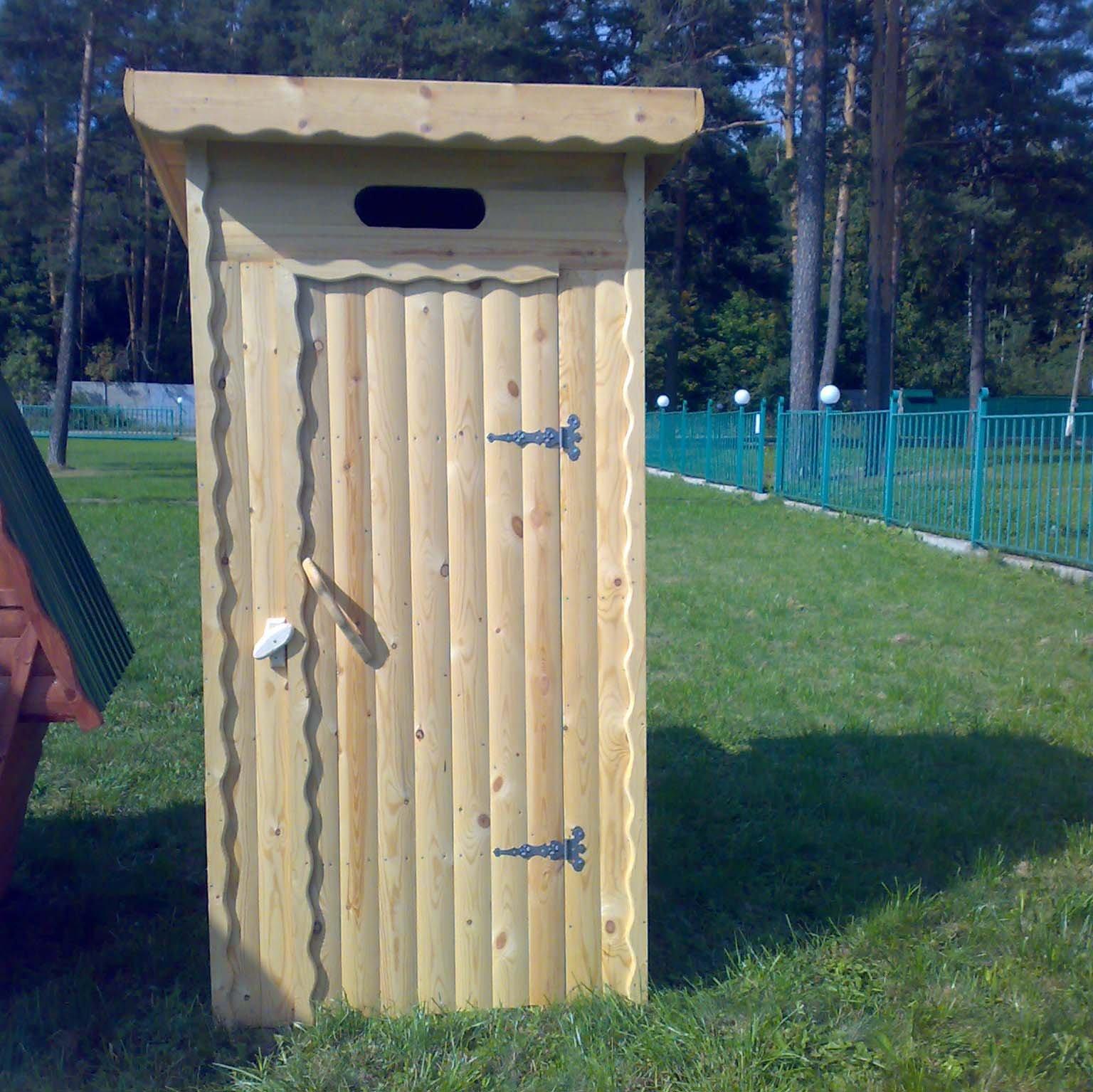 Туалет для дачи из дерева своими руками фото 10