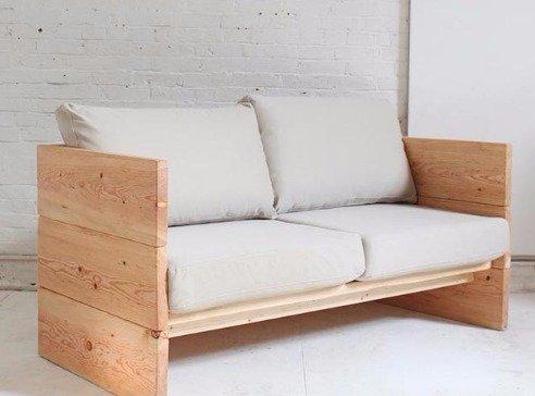 Сделать диван своими руками попроще